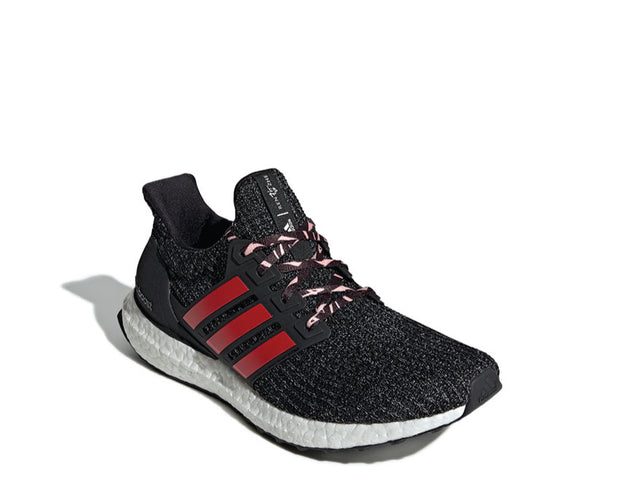 Adidas Ultra Boost Core Black White Scarlet Red F35231