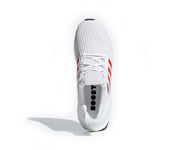0e9cbe5e0e23b ... Adidas Ultra Boost White Act Red Core White DB3199 ...