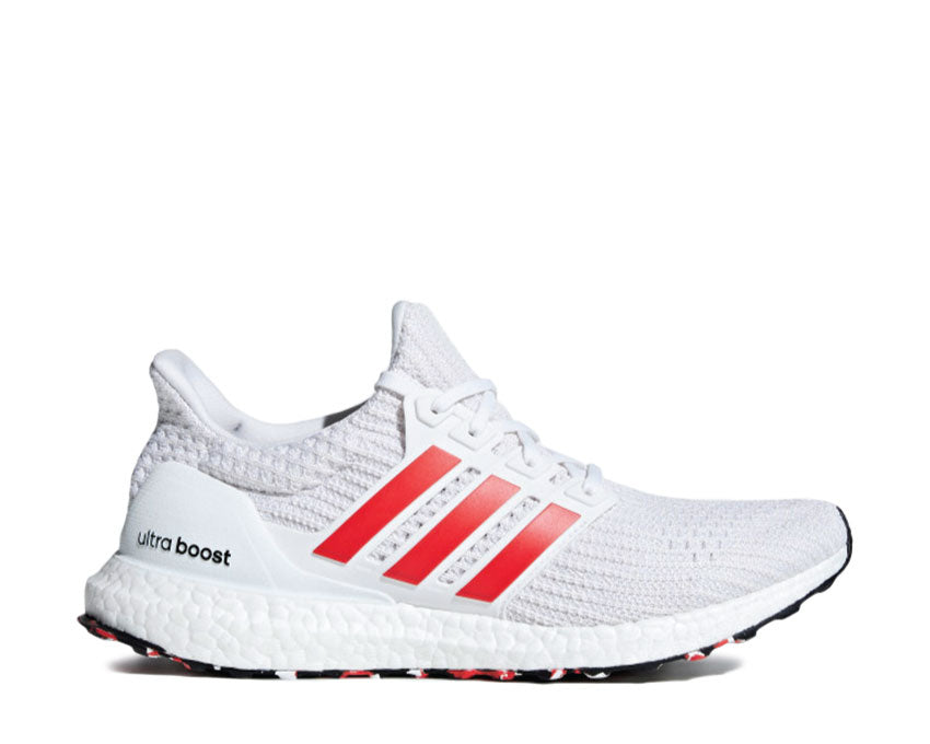 Adidas Ultra Boost White Act Red Core White DB3199