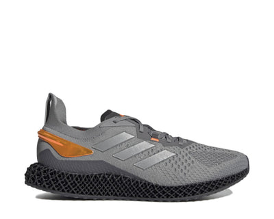 Adidas X9000 4D Grey / Silver / Orange FW7091