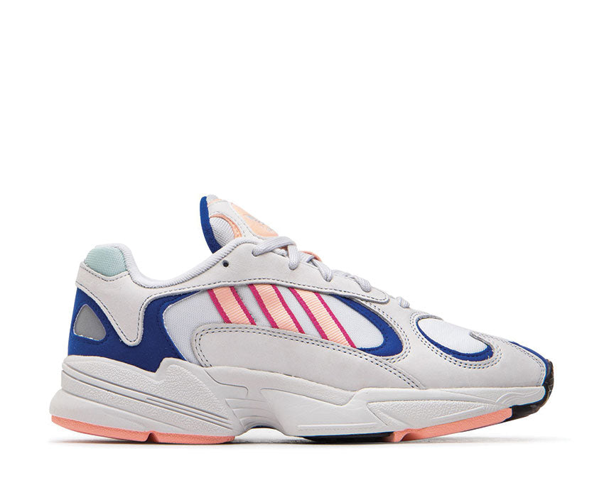 Adidas Yung 1 Crystal White Clear Orange Collegiate Royal BD7654