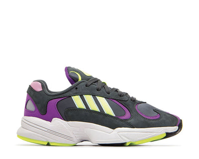 Adidas Yung 1 Legend Ivy Hi Res Yellow Act Purple BD7655