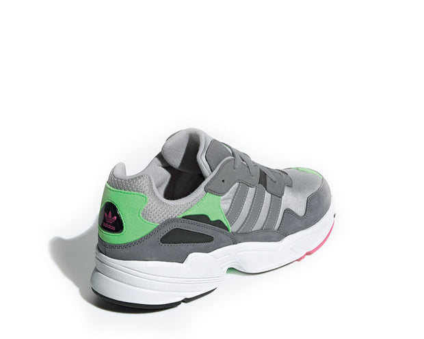 Adidas Yung 96 Grey Two Grey Three Shock Pink F35020