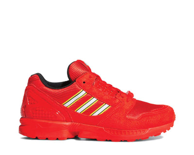 Adidas ZX 8000 LEGO Red / White / Red FY7084