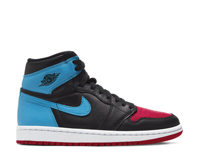 Air Jordan 1 High OG UNC To Chicago Black / DK Powder Blue - Gym Red CD0461-046