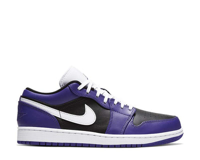 Air Jordan 1 Low Court Purple / White - Black 553558-501