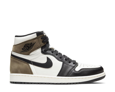 Air Jordan 1 Retro High OG Sail / Black - Dark Mocha - Black 555088-105