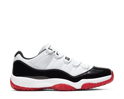 Air Jordan 11 Retro Low Suede White / University Red - Black - True Red AV2187-160