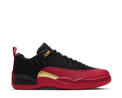 Air Jordan 12 Retro Low SE Black / Varsity Red - Metallic Gold DC1059-001