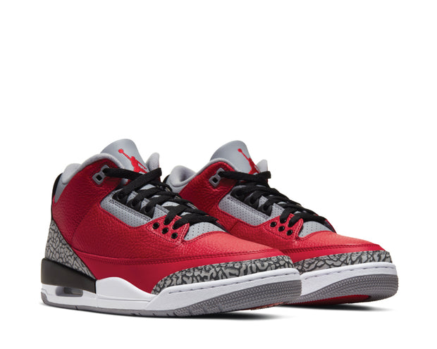 Air Jordan 3 Retro U Varsity Red / Varsity Red - Cement Grey CU2277-600