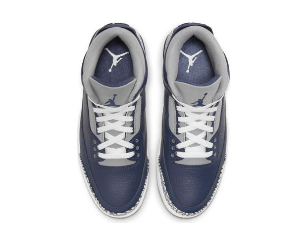 Air Jordan 3 Retro Midnight Navy / White - Cement Grey CT8532-401