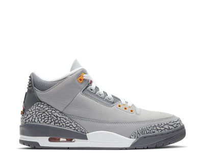 Air Jordan 3 Retro Silver / Sport Red - LT Graphite - Orange Peel CT8532-012