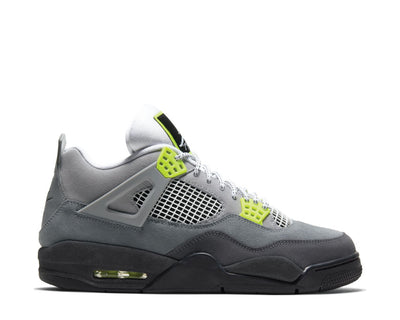 Air Jordan 4 SE Am95 Neon Cool Grey / Volt - Wolf Grey - Anthracite CT5342-007