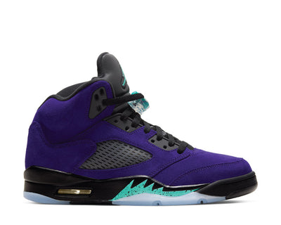 Air Jordan 5 Alternate Grape Grape Ice / Black - Clear - New Emerald 136027-500