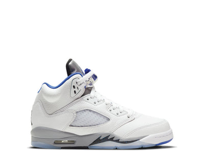 Air Jordan 5 Retro GS White / Hyper Royal - Stealth - Black 440888-140