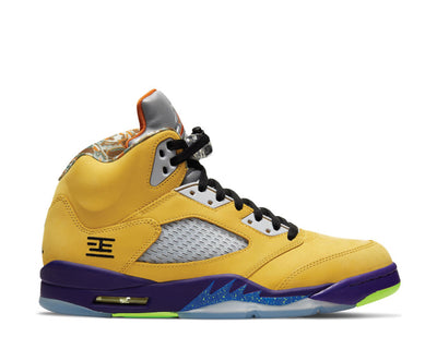 Air Jordan 5 Retro SE Varsity Maize / Solar Orange - Court Purple CZ5725-700