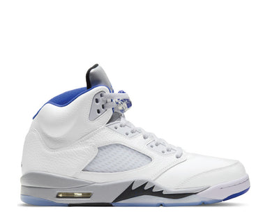 Air Jordan 5 Retro White / Hyper Royal - Stealth - Black DD0587-140
