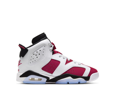 Air Jordan 6 Retro White / Carmine - Black 384665-106