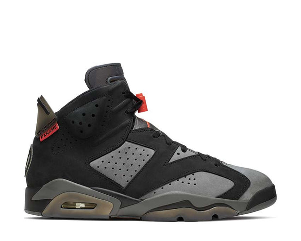 Air Jordan 6 Retro PSG Iron Grey / Black - Infrared 23 CK1229-001