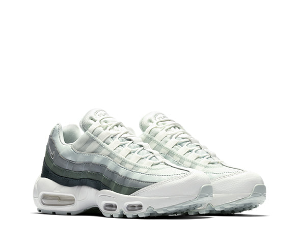 31be8be3e051 Nike Air Max 95 Grey Green 307960-013 - NOIRFONCE