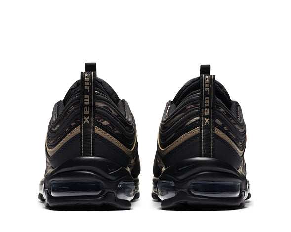 Nike Air Max 97 Black Khaki Velvet Brown AQ4132-001