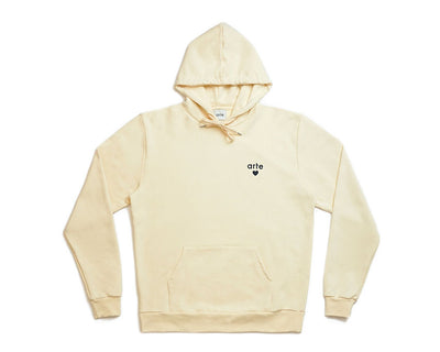 Arte Holden Heart Hoodie Creme SS21-002H