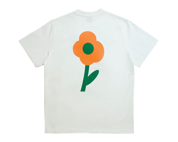 Arte Tomi Back Flower Tee White SS21-047T