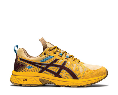 Asics HN1-S Gel Venture 7 Yellow / OX Brown 1201A195 750