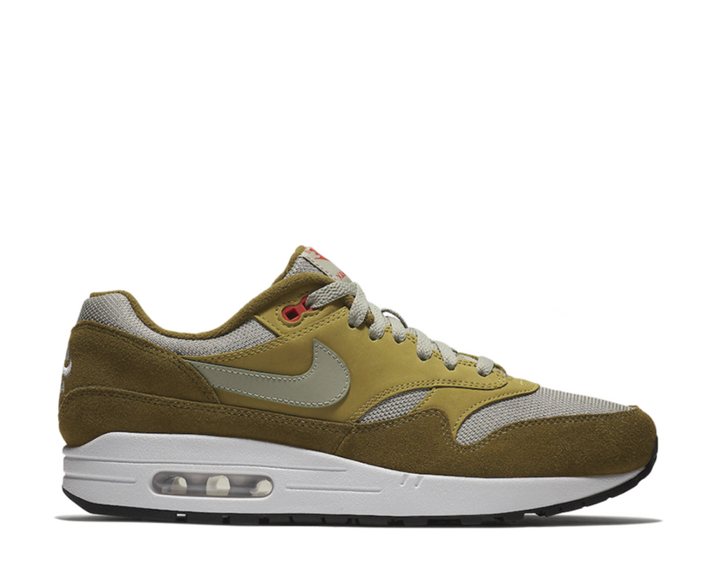 Nike Leather X Atmos Air Max 1 Premium Retro Red Curry for