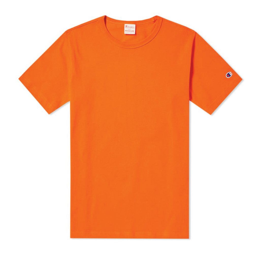 Champion Classic Tee Orange 210971 OS005