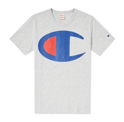 Champion Large C Tee Grey 211984 EM004