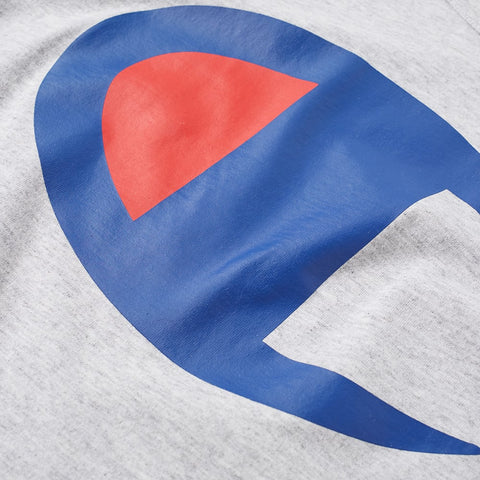 Champion Large C Tee Grey