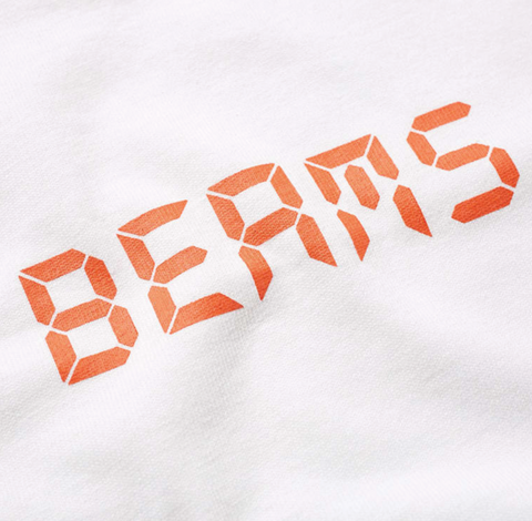 Champion X Beams Digital Logo Tee White