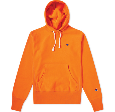 Champion Hooded Sweatshirt Orange