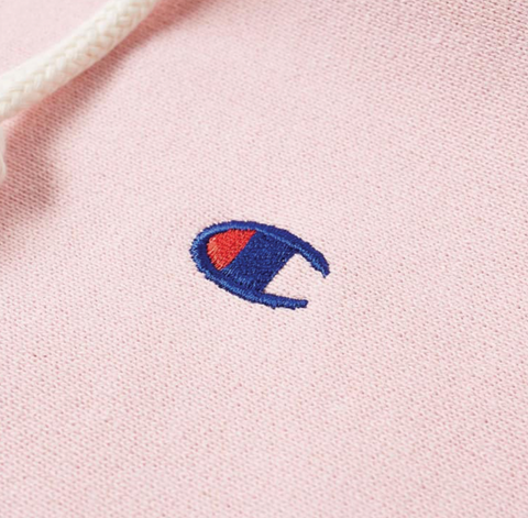 Champion Hooded Sweatshirt Pink
