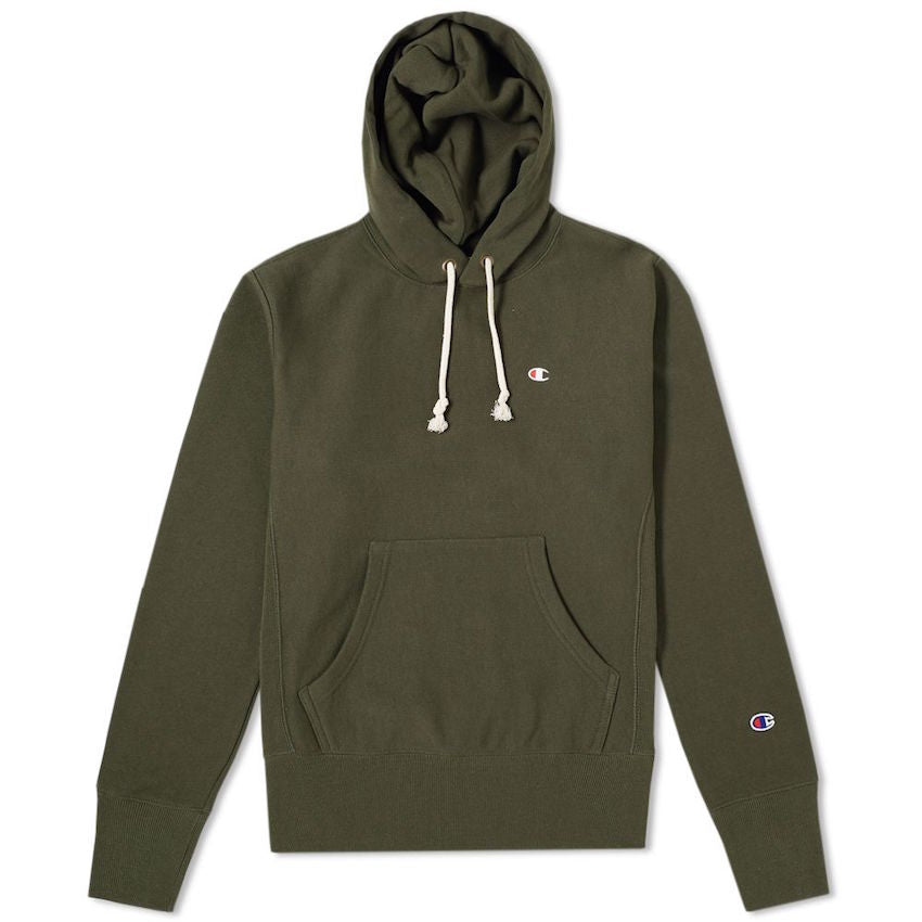 Champion Hooded Sweatshirt Olive 210966