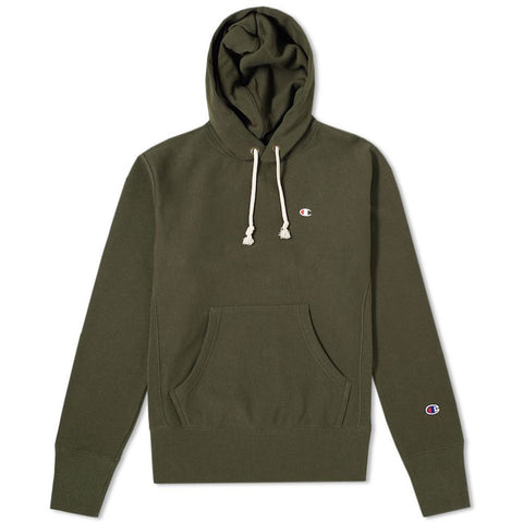 Champion Hooded Sweatshirt Olive