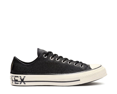 Converse Chuck 70 GORE-TEX Leather Low Top Black Egret 163229C