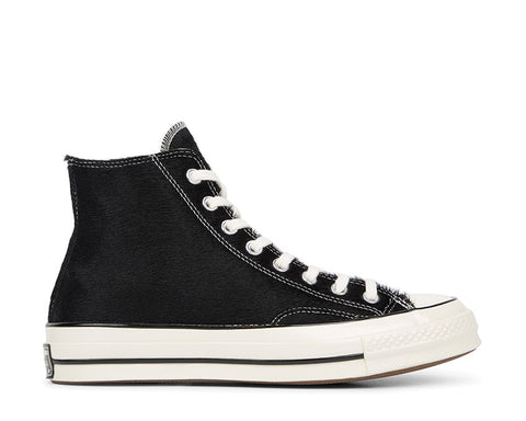 "Converse Chuck 70 HI ""Pony Hair"" Black"