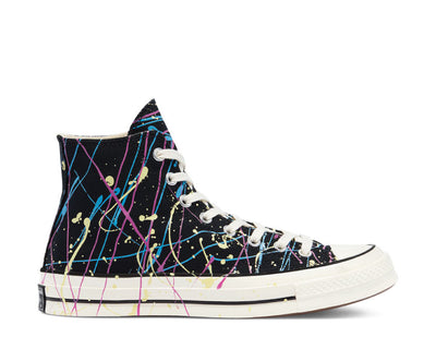 Converse Chuck 70 High Top Archive Paint Splatter Black / Hypermagenta 170801C