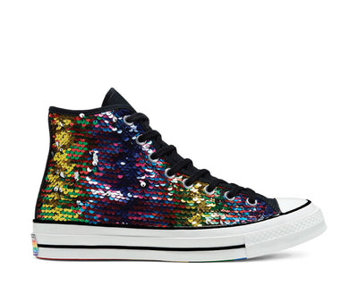 Converse Chuck 70 High Top Pride White / Black / University Red 167755C