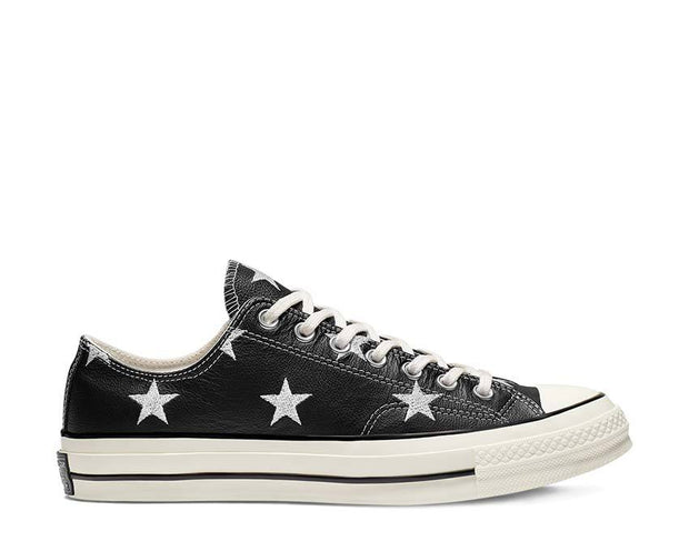 Converse Chuck 70 Low Top Archive Prints Leather Black 165964C