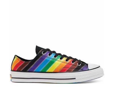 Converse Chuck 70 Low Top Pride White / Black / Dark Roast 167756C