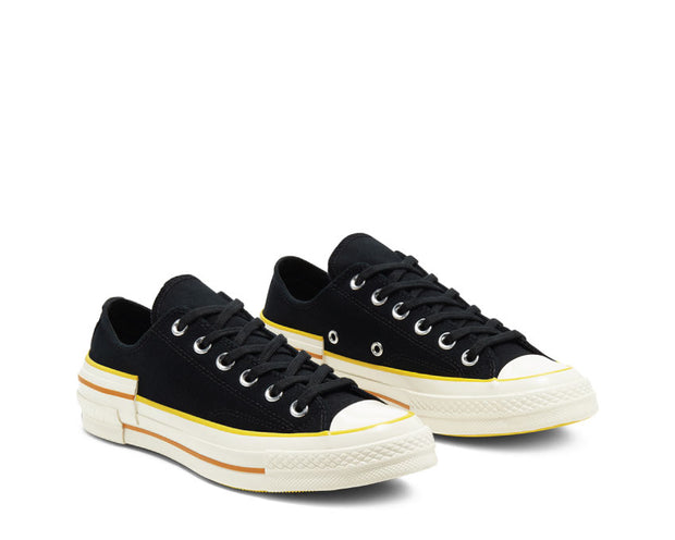 Converse Chuck 70 OX Black / Speed Yellow / Egret 568802C