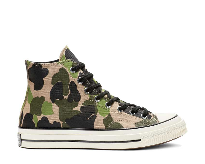 Converse Chuck 70 Print Hi Candied Ginger Piquant Green 163407C