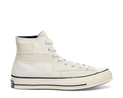 Converse CT70's Mono Patchwork Antique White / Egret / Black 167139C