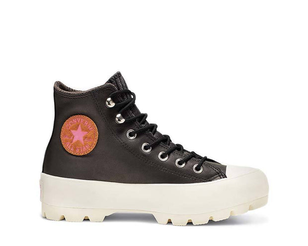 Converse Chuck Taylor All Star Lugged Gore-Tex 565006C Black / Mod Pink / Egret 166132C