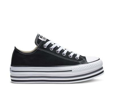 Converse Chuck Taylor All Star Platform Black / White / Thunder 563970C