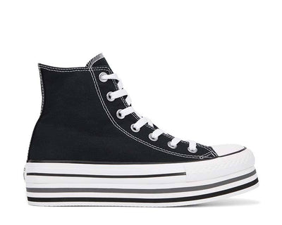 Converse Chuck Taylor All Star Platform High Black / White / Thunder 564486C