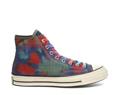 Converse CT 70 Hi Tie Dye Plaid Mint / Cactus Flower / Dewberry 168752C